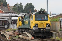 Salisbury - Freightliner 70004 light engine Wentloog to Southampton.JPG