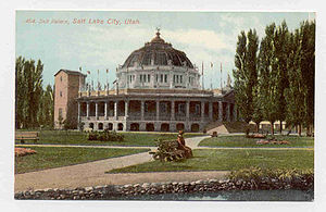 Salt Palace - Postcard of First Salt Palace
