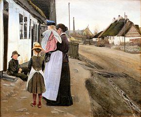 Samtale i landsbygaden, Lille Næstved