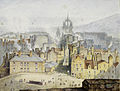 Samuel Dukinfield Swarbreck (attr) View of Edinburgh 1827 7.jpg