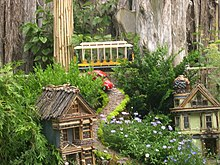 Great San Francisco Train Model At The Botanic Garden Chicago