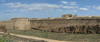"""Siege of Famagusta - Venetian Walls of S. Luca (""""Bastioni San Luca"""") in Famagusta"""