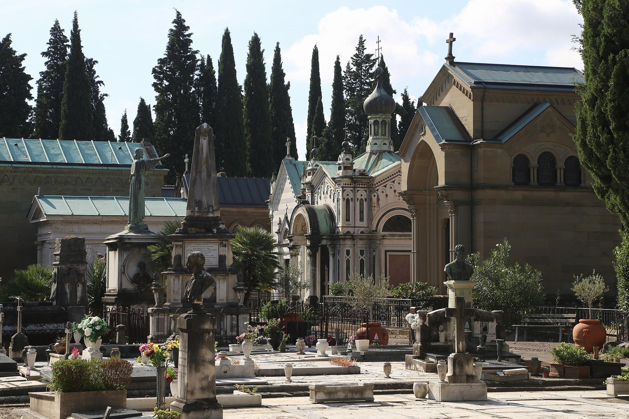 San Miniato al Monte Cimitero Florenz-11