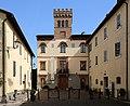 San venanzo, vecchia sede del comune, oggi museo vulcanologico, con torretta del 1934, 02.jpg