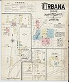Sanborn Fire Insurance Map from Urbana, Champaign County, Ohio. LOC sanborn06918 001-1.jpg