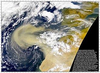 Mineral dust - Image: Sandstorm big
