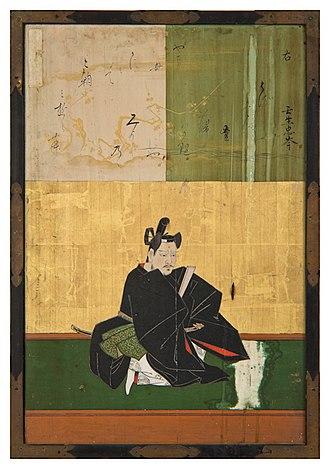 Mibu no Tadamine - Mibu no Tadamine by Kanō Yasunobu, 1648