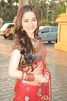 Sanjeeda at STAR Plus Dandia Shoot2.jpg