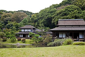 Important Cultural Property (Japan) - Sankei-en's Rinshunkaku in Yokohama is a nationally designated Important Cultural Property