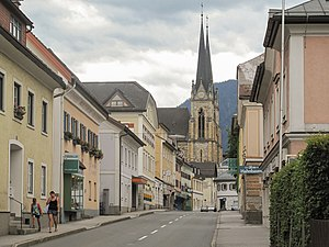 St Johann im Pongau - Sankt Johann, Center of the town