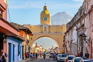 Antigua Guatemala City in Sacatepéquez, Guatemala