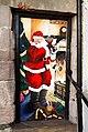Santa painting, Bangor - geograph.org.uk - 1629260.jpg