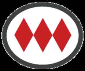 Santa Lucía metro station - Image: Santiago Metro logo