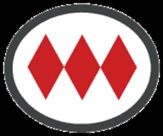 Los Héroes metro station - Image: Santiago Metro logo