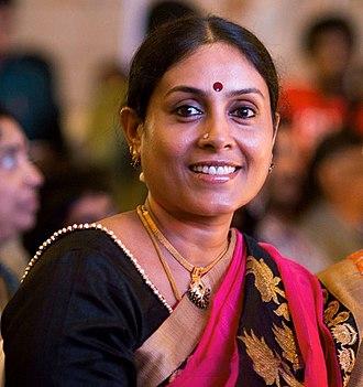 Saranya Ponvannan - Image: Saranya Ponvannan at Saivam Audio Launch