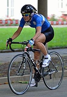 Sari Saarelainen Finnish cyclist