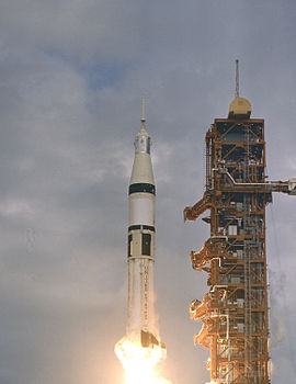 Saturn IB SA-206 (Skylab 2) Launch
