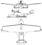 Savoia-Marchetti S.63 3-view Les Ailes March 1,1928.png
