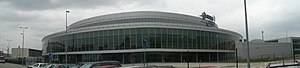 O2 Arena (Prague) - Panorama of O2 Arena