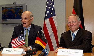 Secretary Michael Chertoff of the U.S. Departm...