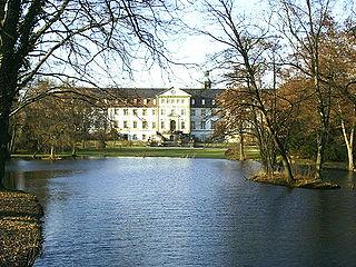 Quarter of Salzgitter in Lower Saxony, Germany