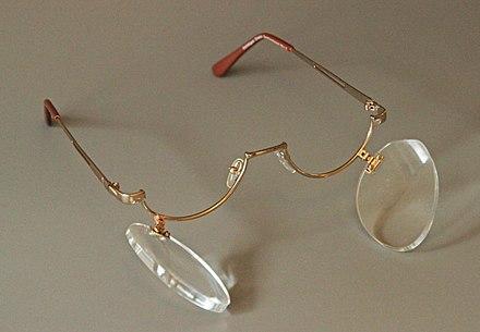 maske optische gläser dioptrien niedriger