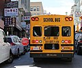 School bus in Chinatown, San Francisco (TK).JPG