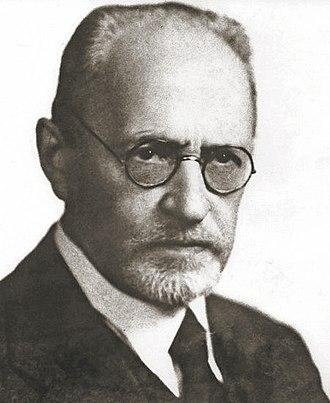 Moses Schorr - Moses Schorr, ca. 1921