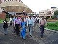 Science Career Ladder Workshop Participants Visiting Science City - Indo-US Exchange Programme - Kolkata 2008-09-17 01259.JPG