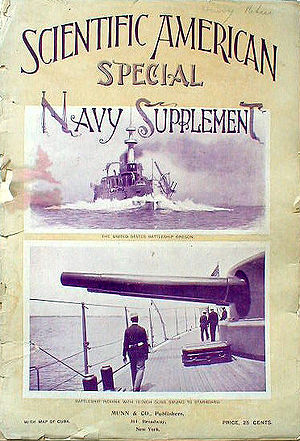 Cover of Scientific American Special Navy Supp...