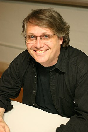 Comics studies - Cartoonist and comics theorist Scott McCloud