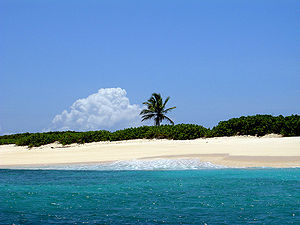 Scrub Island, Anguilla - View of Scrub Bay