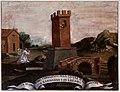 Scuola toscana, storie di san leonardo, liberazione del prigioniero alla catena, 1650-1700 ca.jpg