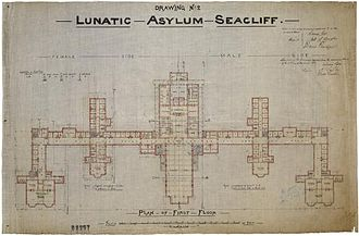 Seacliff Lunatic Asylum - New Zealand's largest building was an exercise in Gothic Revival architecture, but its facades belied the utilitarianism of its repetitious interior.