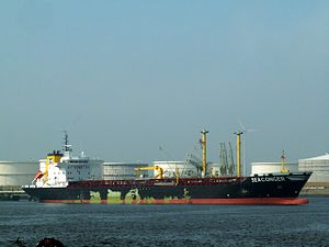 Seaconger pA at the Calland canal, Port of Rotterdam, Holland 23-Jul-2006.jpg