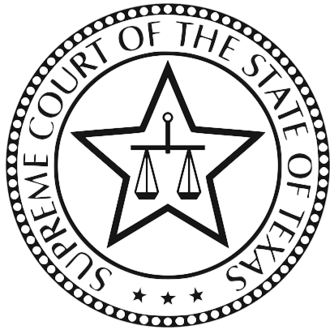 Supreme Court of Texas - Seal of the Supreme Court