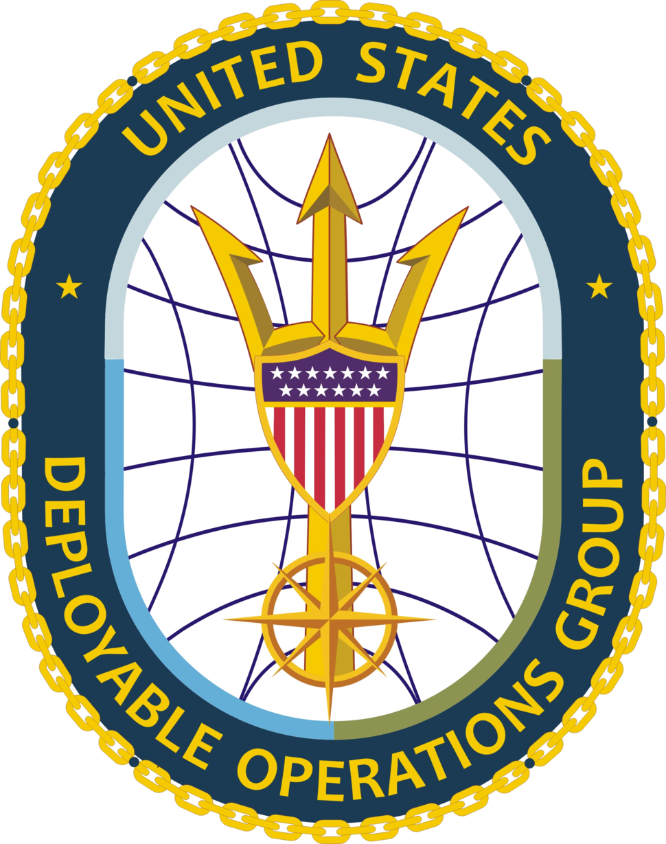 Seal of the United States Coast Guard Deployable Operations Group