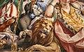 Sebastiano Ricci, allegoria della Battaglia di Lepanto, 1695 ca. 03 leone.jpg