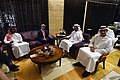 Secretary Kerry Sits With UAE Crown Prince Mohammed bin Zayed, Foreign Minister Abdullah bin Zayed, and National Security Adviser Tahnoon Before a Meeting in Abu Dhabi (27475062581).jpg