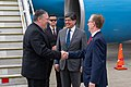 Secretary Pompeo Greeted by Foreign Minister Valencia and Ambassador Fitzpatrick in Ecuador (48331213641).jpg