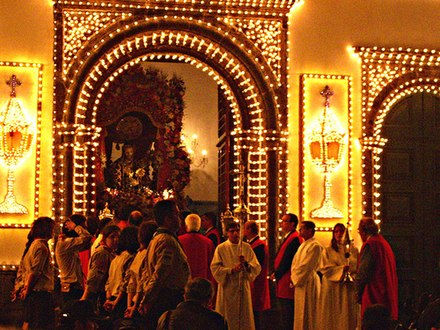 The Festival of the Lord Holy Christ of the Miracles, in Ponta Delgada, Sao Miguel Island. Senhor Santo Cristo (4616751002).jpg