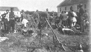 Požarevac - Reservist mobilization in Požarevac, 1914.