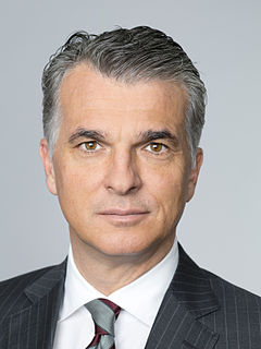 Sergio Ermotti Swiss banker from Lugano. Group CEO of UBS since November 2011