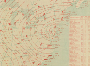 January 1886 blizzard - Image: Sfc 188601090730AM