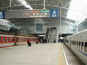 Shanghai Railway Station - Platform