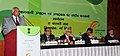Sharad Pawar addressing the National Horticulture Conference on production, in New Delhi. The Minister of State for Agriculture and Food Processing Industries, Shri Charan Das Mahant and the Secretary.jpg