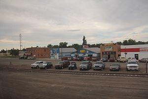 Shelby, Montana - Downtown Shelby