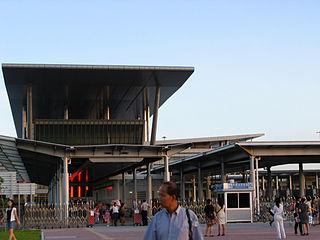 Port of entry between Hong Kong and China
