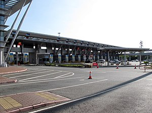 Shenzhen Bay Control Point - Shenzhen Bay Vehicle Control Point (Hong Kong side)