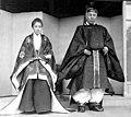 Shigenobu and Ayako Okuma at enthronement.jpg